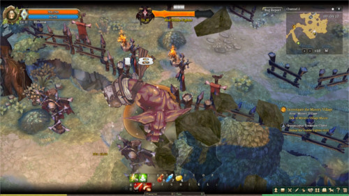 boss fight in tree of savior