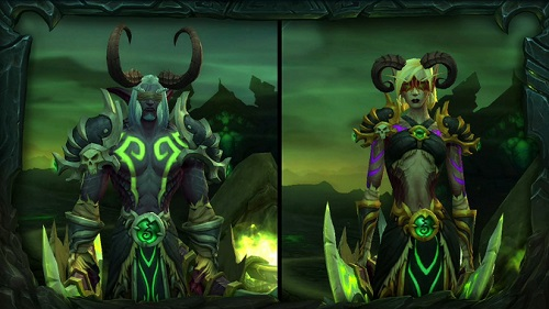 demon hunter, a new class in World of Warcraft the Legion