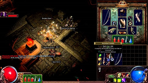 path of exile church dungeon
